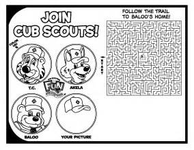 cub scout coloring pages clip for cub scout leaders