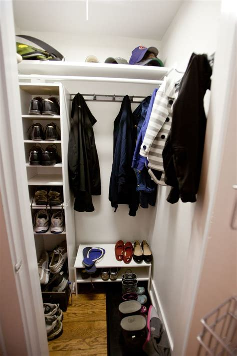 Foyer Closet Organizer by 17 Best Images About Foyer Closets On Coats