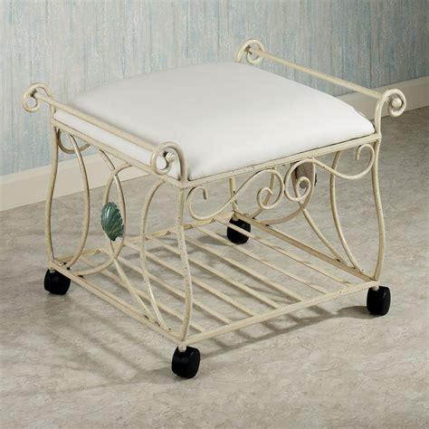 bed bath and beyond vanity stool upholstered vanity stool all images chrome metal vanity