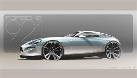 porsche concept porsche 921 vision is a design concept for a modern 928 gt