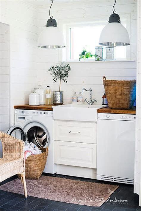 100 Inspiring Laundry Room Ideas Laundry Rooms Laundry Laundry Hers For Small Spaces