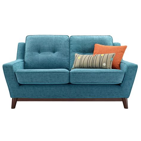 microfiber contemporary sofa furniture modern attractive blue microfiber small sofa