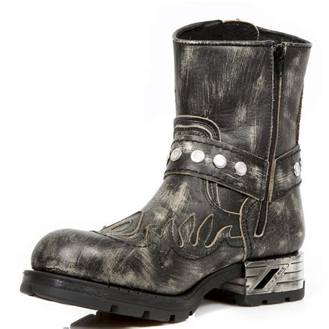 grey motorcycle boots grey python pattern motorcycle boots w flames
