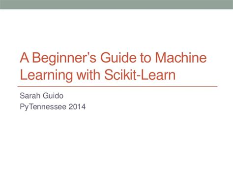 machine learning for business a simple guide to data driven technologies using machine learning and learning books a beginner s guide to machine learning with scikit learn