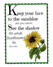 sunflower printable quotes about and sunflowers quotesgram