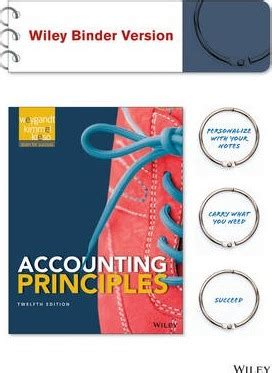 managerial accounting binder ready version books accounting principles 12th edition binder ready version