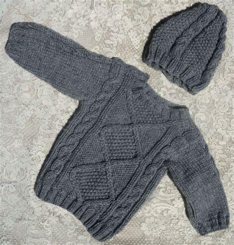 www gorros tejidos en lana para niosynias saco y gorro para bebe tejidos en dos agujas sacos para