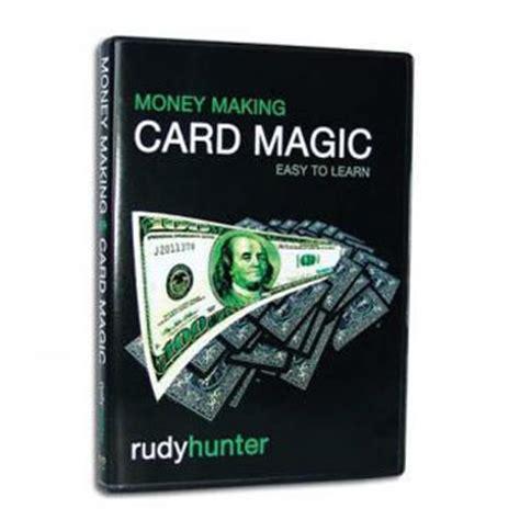 make money card money card magic dvd fast shipping magictricks