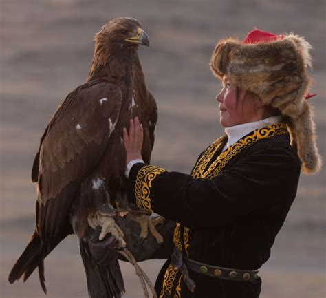 mongolian becoming eagle hunters to help keep