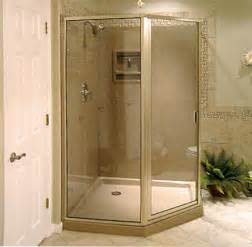 corner shower kit corner shower pan walk in shower stall
