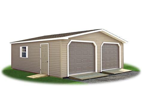2 Car Garage Shed by 2 Car Modular Garages Pine Creek Structures