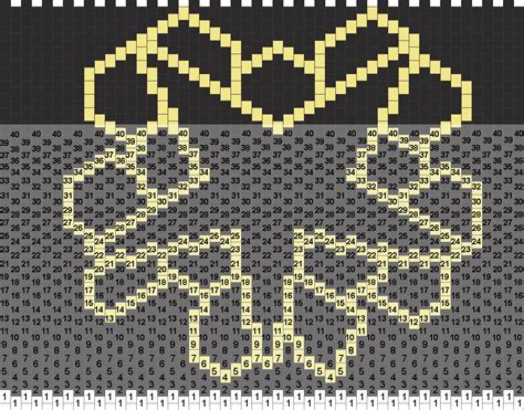bvb pony bead patterns misc kandi patterns for