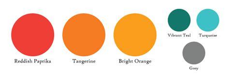 colors that compliment orange orange wedding colors themes 187 pb jacksonville