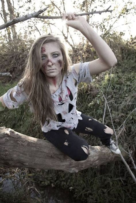 cool zombie halloween costume  makeup ideas easyday