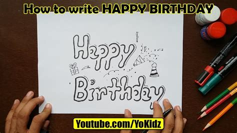 Happy Style by How To Write Happy Birthday In Style With Fancy Letters