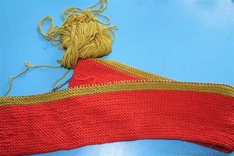 decke 50g schoenstricken de einfache gestreifte babydecke stricken