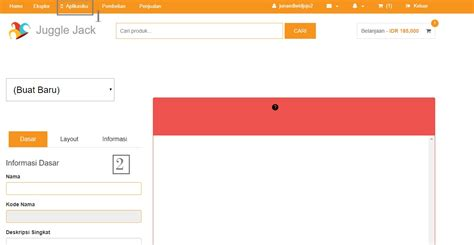 membuat aplikasi toko online cara membuat aplikasi android dengan juggle jack web