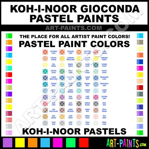 koh i noor gioconda pastel paint colors koh i noor gioconda paint colors gioconda color