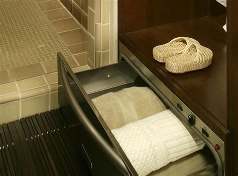 towel warming drawer bathroom 10 affordable ideas that will turn your small bathroom