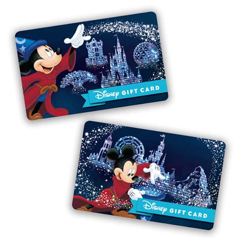 Walt Disney World Gift Card - new disney gift card designs feature walt disney world resort park icons diszine
