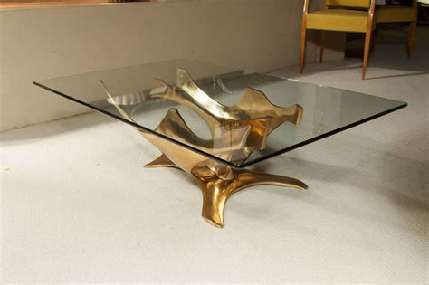 fred brouard bronze sculpture cocktail table for sale at