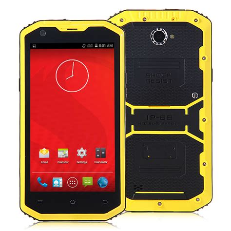 Jeep A8 jeep a8 ip68 5 5inch waterproof android 4 4 phone 1gb 8gb