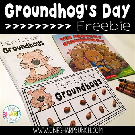 groundhog day kindergarten lesson plans 45 best groundhog day activities crafts and lesson plans