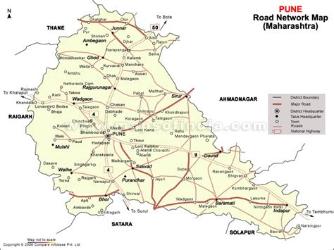 pune geographical map g k 06 02 11
