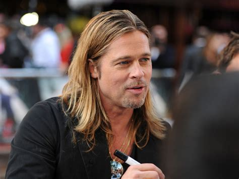 brad pitt world war z hair length brad pitt world war z hair length brad pitt photos photos