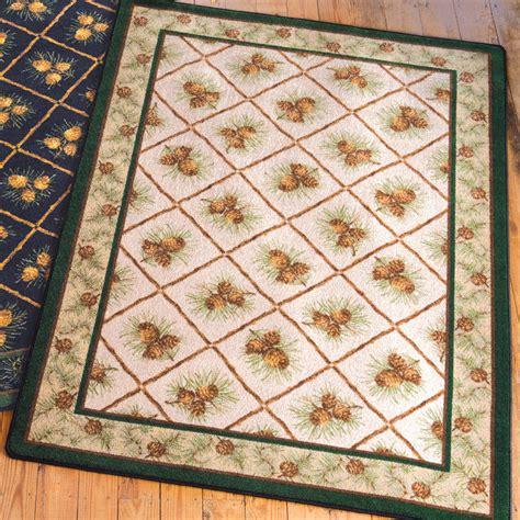 pinecone rug 4 x 5