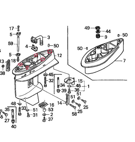 Honda Outboard Parts by Honda Outboard Motor Schematic Best Site Wiring Harness