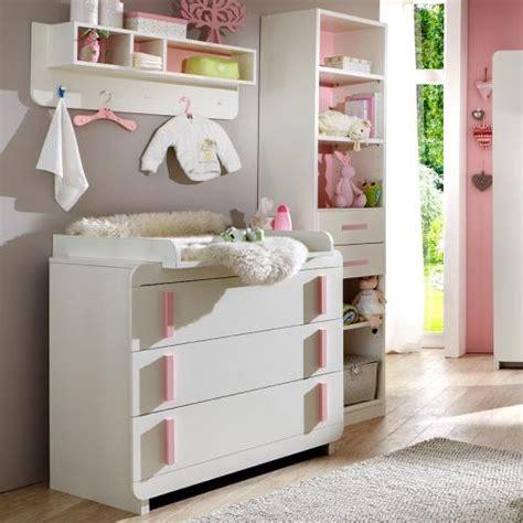 regal babyzimmer neu babyzimmer in wei 223 rosa kommode wickelkommode