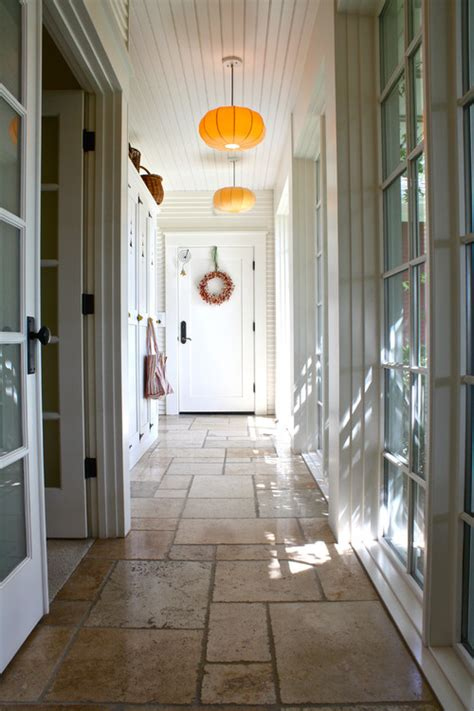 Enclosed Bookcases Hallway Decorating Ideas Town Amp Country Living
