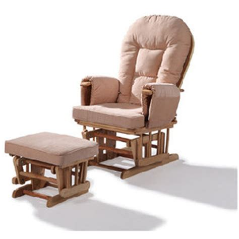 Rocking Chair Glider For Nursery Replacement Cushions For Glider Rocking Nursery Chair And Foot Stool Ebay