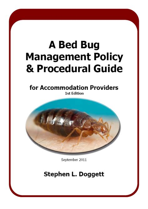 bed bug protocol bed bug policy and procedure diy project download