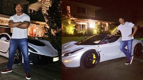 """Dwayne """"The Rock"""" Johnson Keeps Getting Supercar Gifts"""