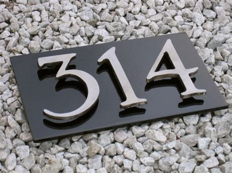 house numbers address signs salt spring cnc water jet cutting cnc router cutting