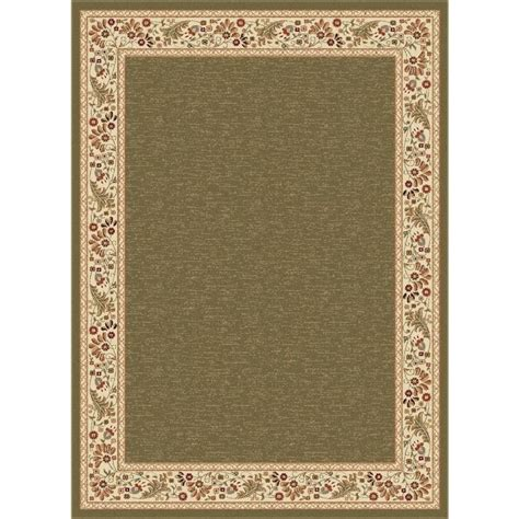 lowes rugs 5x8 shop tayse sensation green rectangular indoor area rug common 5 x 7 actual 5 25 ft w x 7 25