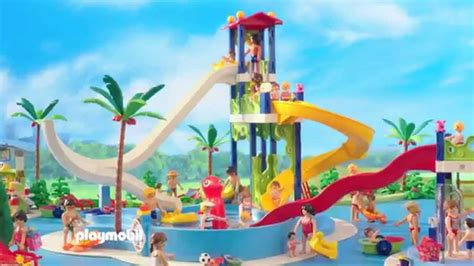 play mobil playmobil presenteert in het aquapark nederland