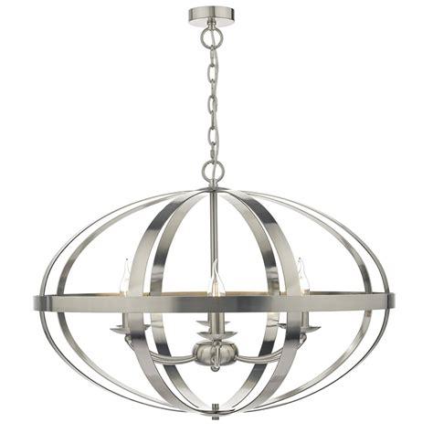 Pendant Light Symbol Dar Lighting Symbol 6 Light Ceiling Pendant In Satin