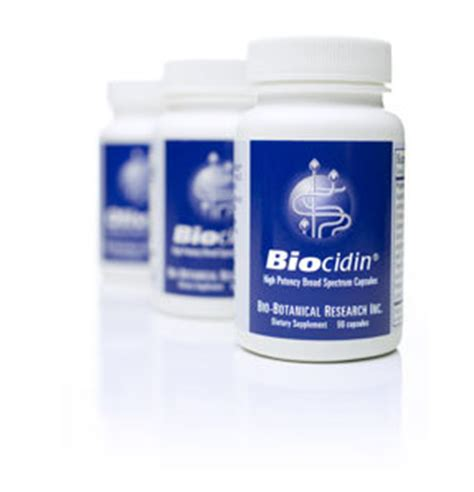 Gi Detox Bio Botanical by Biocidin 174 Capsules Broad Spectrum Detoxification