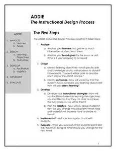 best photos of instructional design plan template