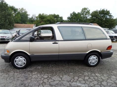 how to sell used cars 1995 toyota previa spare parts catalogs find used 1995 toyota previa all