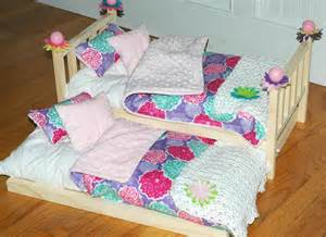 american doll bed pretty posies trundle bed by