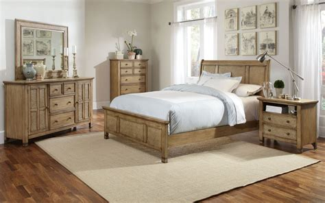 kingston bedroom set kingston isle sand sleigh bedroom set from progressive