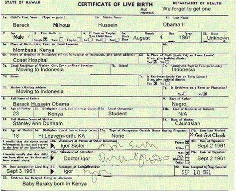 Obama Birth Records Obama S Birth Certificate Confirmed It S Obama Birthplace Controversy