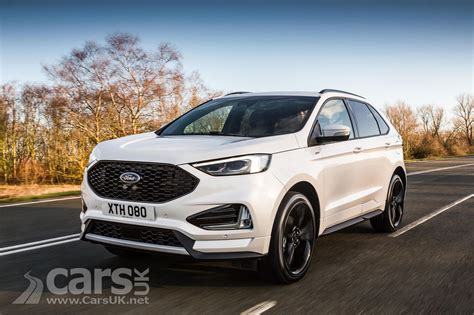 New Diesel Suvs by 2018 Ford Edge Suv Gets New 235bhp Diesel And St Line In