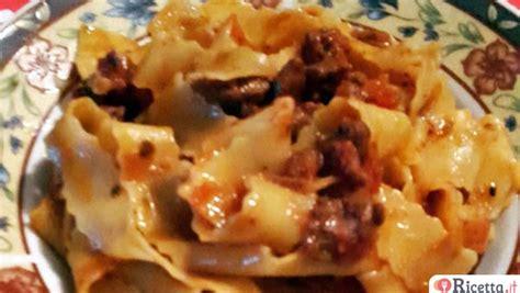 cucinare il cinghiale al sugo ricetta pappardelle al rag 249 di cinghiale al pomodoro