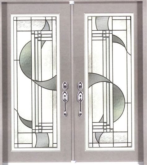 Glass Door Inserts Stained Glass Door Inserts And Wrought Iron Door Inserts