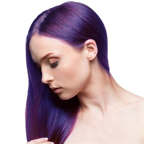 permanent hair color purple fudge paintbox semi permanent hair dye purple
